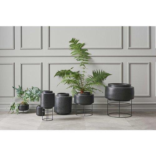 Bolia Botanique plantenstaander met pot Zwart Ø 320 mm