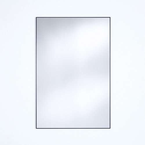 Deknudt Mirrors Lucka rect. spiegel zwart