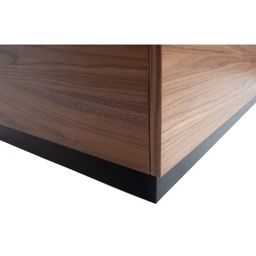 vtwonen Block bijzettafel grenen/walnoot 82 x 82