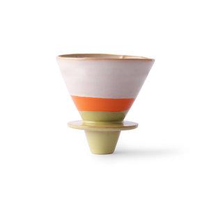 HK Living 70's koffiefilter keramiek saturn