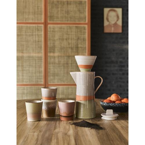 HK Living 70's koffiekan Saturn