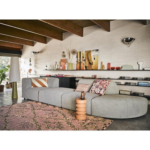 HK Living Handgeknoopt berber tapijt wol terra/oranje 250 x 350
