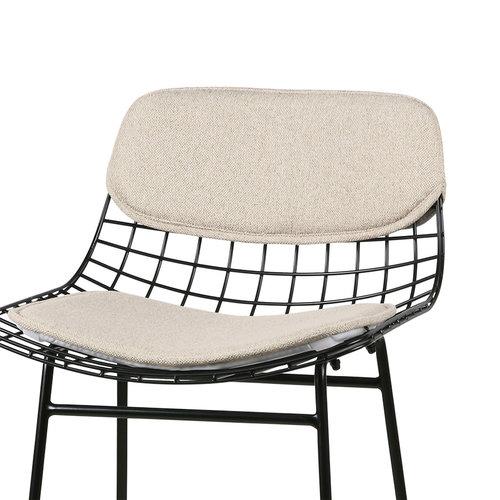 HK Living Comfort kit voor draadstaal barstoel zand