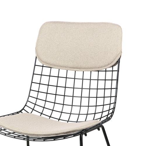 HK Living Comfort kit voor metalen draadstoel zand