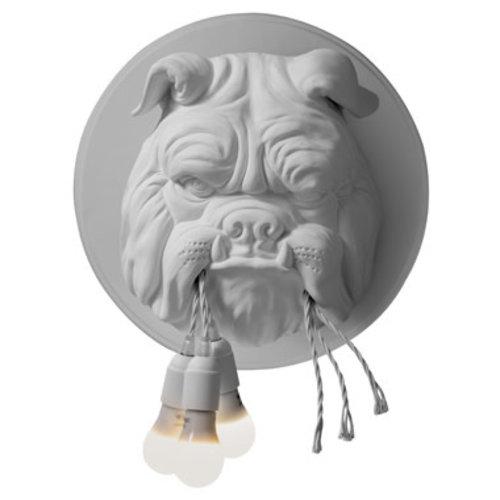 Karman Amsterdam wandlamp mat wit