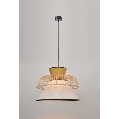 Market Set Mekko L hanglamp wit/geel