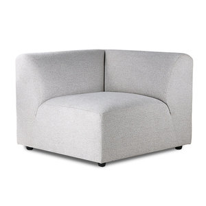 HK Living Jax sofa links element lichtgrijs
