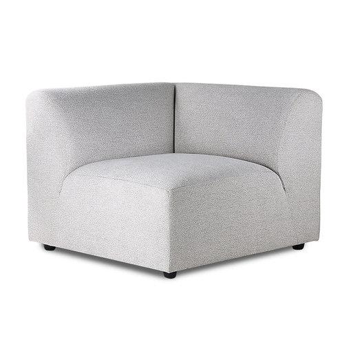 HK Living Jax sofa rechts element lichtgrijs