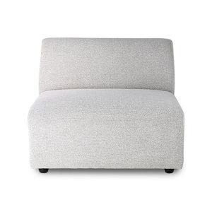 HK Living Jax sofa midden element lichtgrijs