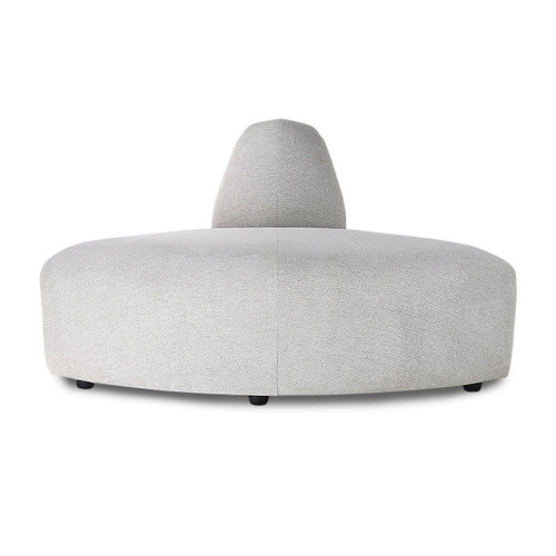 HK Living Jax sofa hoek element lichtgrijs