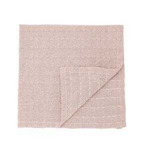 Bloomingville Servet roze katoen set van 4
