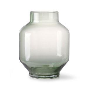 HK Living vaas groen glas L