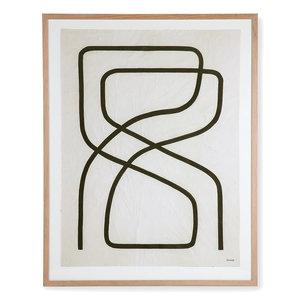 HK Living Kader met kunst door Benjamin Ewing 75 x 95