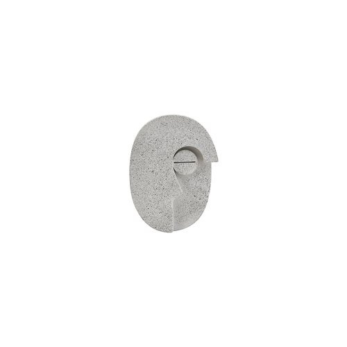 House Doctor Face wanddecoratie grijs klein