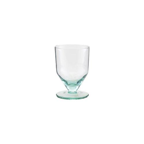 House Doctor Ganz Green wittewijnglas