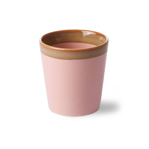 HK Living 70's koffiekop roze