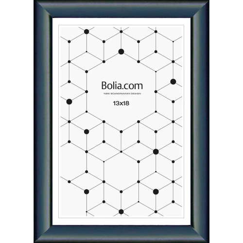 Bolia Frame away fotolijst zwarte aluminium 13 x 18