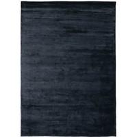 Lucens rond of rechthoekig tapijt navy