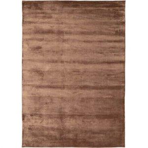 Linie Design Lucens rond of rechthoekig tapijt amber