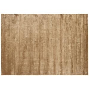 Linie Design Lucens rond of rechthoekig tapijt mustard