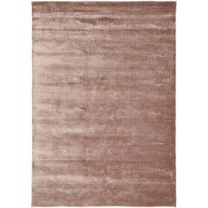 Linie Design Lucens rond of rechthoekig tapijt rose