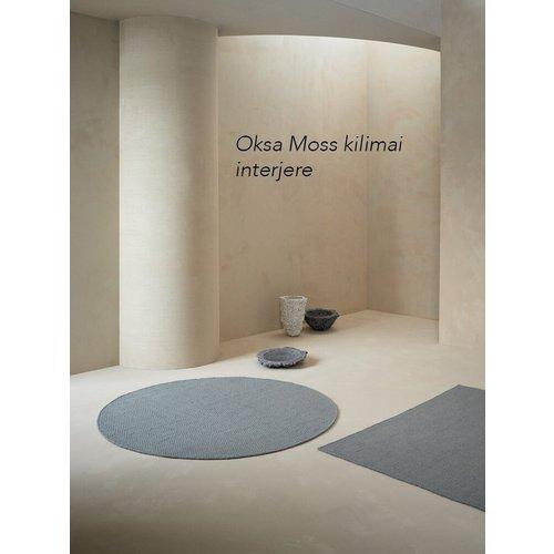 Linie Design Oksa rond of rechthoekig tapijt moss