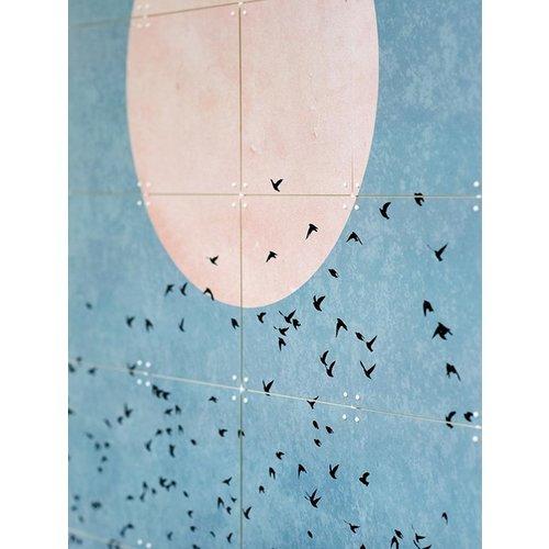 IXXI IXXI Wanddecoratie dubbelzijdig - Kubistika - Free Souls fly away