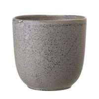 Sima bloempot grijs keramiek