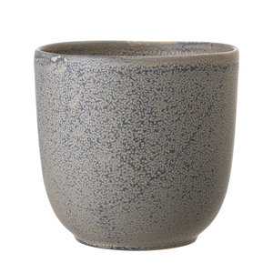 Bloomingville Bloempot grijs keramiek