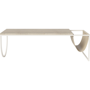Bolia Piero salontafel crèmekleurig staal