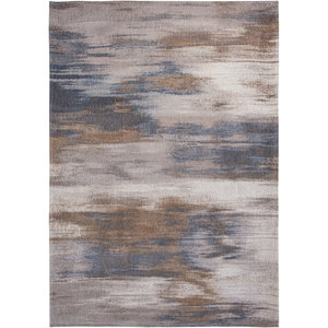Louis De Poortere Rugs Monetti grey impression tapijt Atlantic Collection
