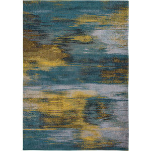 Louis De Poortere Rugs Monetti nymphea blue tapijt Atlantic Collection