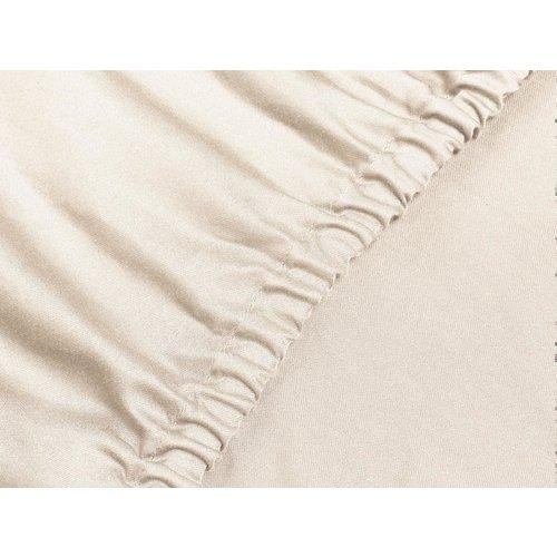 Yumeko Hoeslaken gewassen katoensatijn oudroze