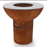 FiQ XL hoog cortenstaal - set column+ schaal
