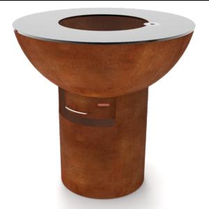 Artola FiQ XL hoog cortenstaal - set column+ schaal