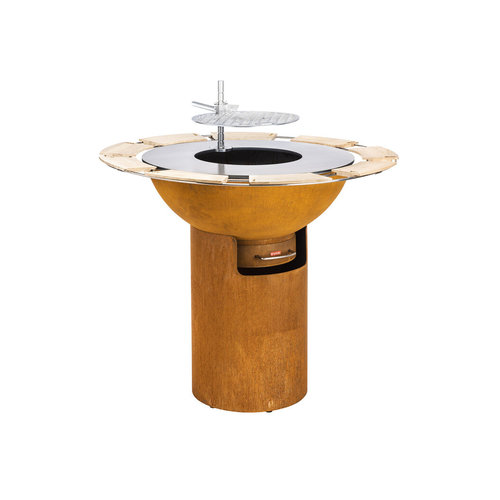 Artola FiQ L hoog cortenstaal - set column+ schaal