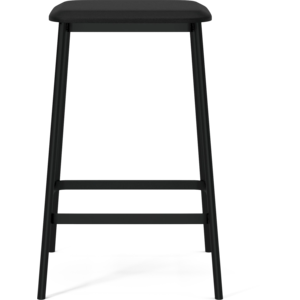 Bolia Facet counter stoel - ZH 63 -leder zwart-TOONZAALMODEL