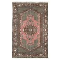 Geprint katoenen tapijt stonewashed 120 x 180 TOONZAALMODEL