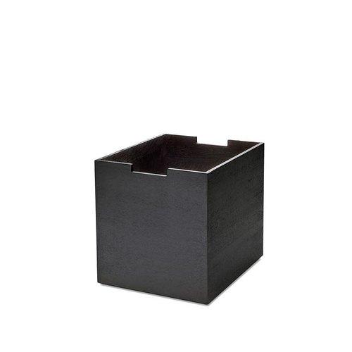 Skagerak Cutter kruk eik zwartgebeitst + cutter box large - TOONZAALMODEL