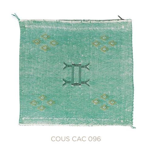 Chabi chic Kussen groen cactuszijde 50 x 50