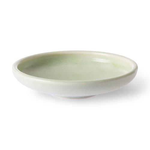 HK Living Home Chef Ceramics: dessertbord muntgroen