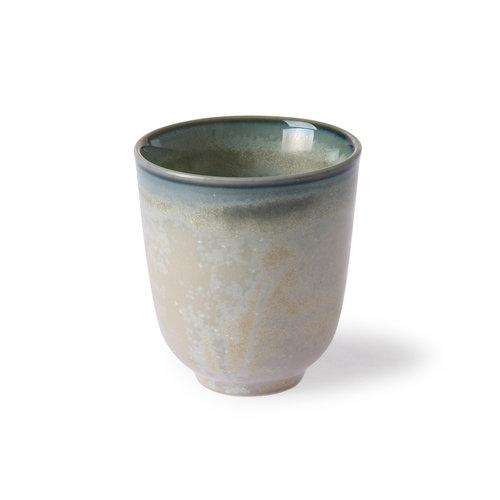 HK Living Home Chef Ceramics: mok grijs/groen