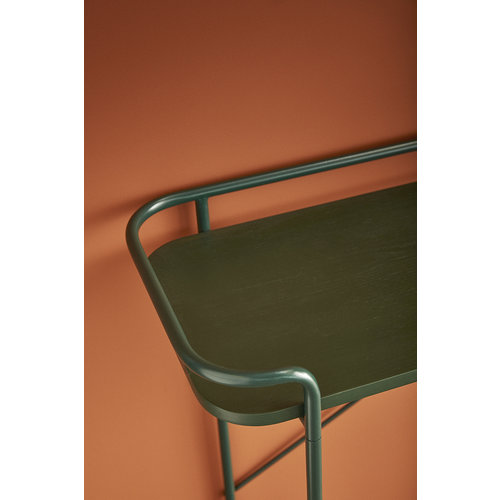 Hübsch Console tafel groen metaal