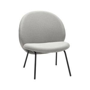Hübsch Lounge stoel grijs