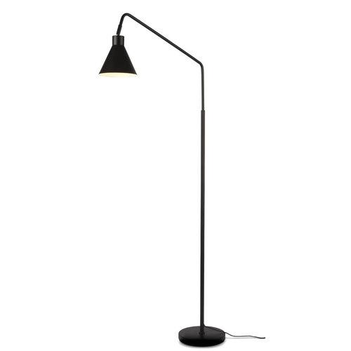 Good & Mojo Lyon vloerlamp zwart metaal