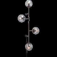 Orb wandlamp mat zwart