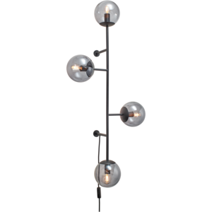 Bolia Orb wandlamp mat zwart