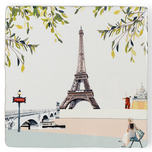 StoryTiles Paris I love you tegel small