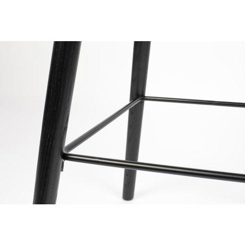 Zuiver Albert Kuip counter stoel volledig zwart - ZH 66