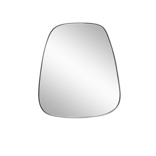 Hübsch Spiegel met metalen frame trapezium